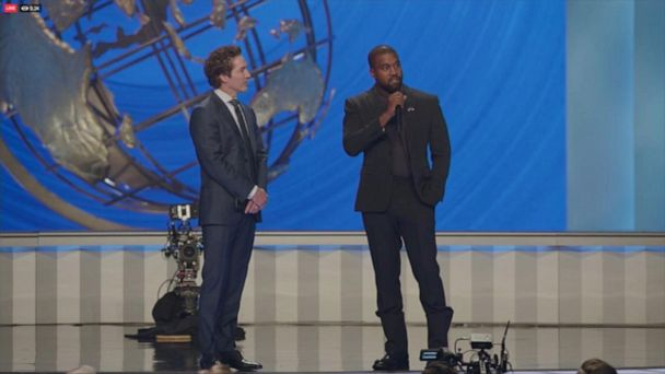 Joel Osteen and Kanye West join hands for special Sunday service