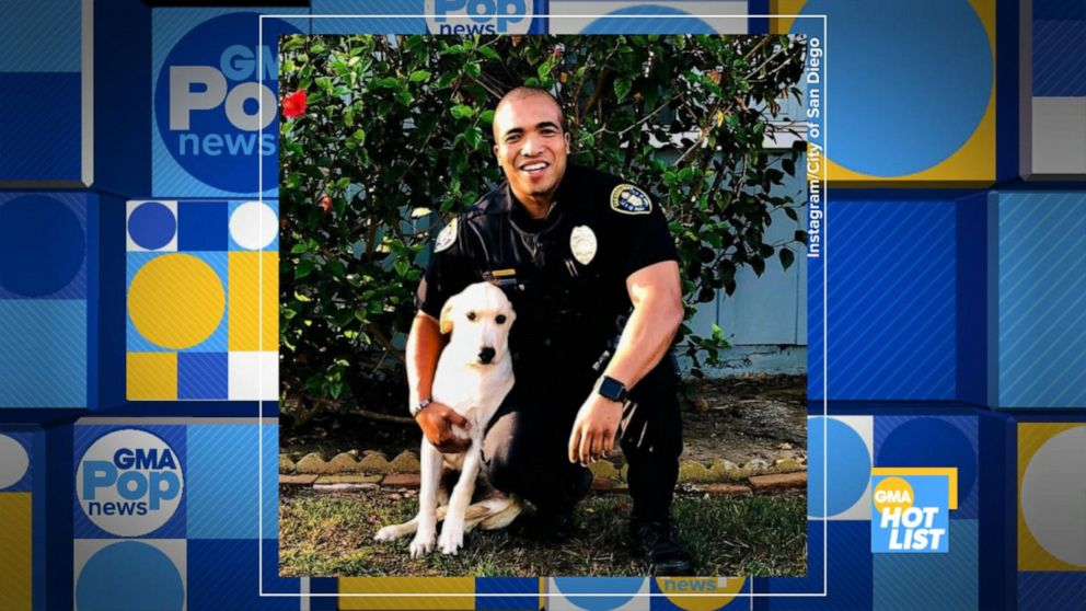 'GMA' Hot List: A California police officer adopts pup he found in a stolen car