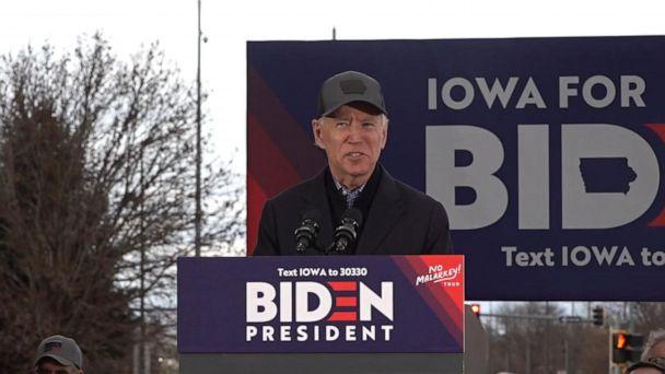 Joe Biden launches 8-day bus tour across 18 counties in Iowa