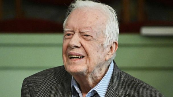 Jimmy Carter hospitalized to treat an infection