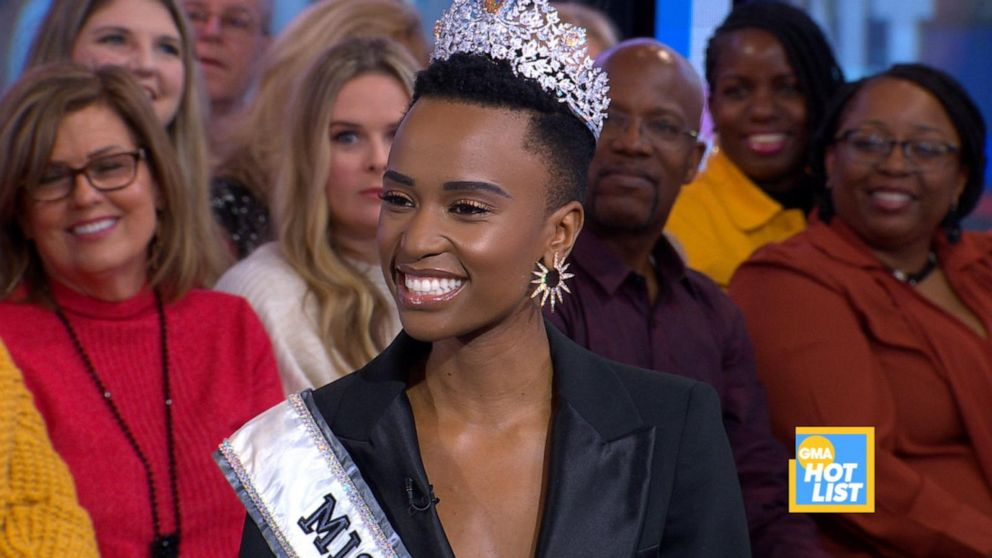 'GMA' Hot List: Zozibini Tunzi reveals her career goal prior to her Miss Universe win
