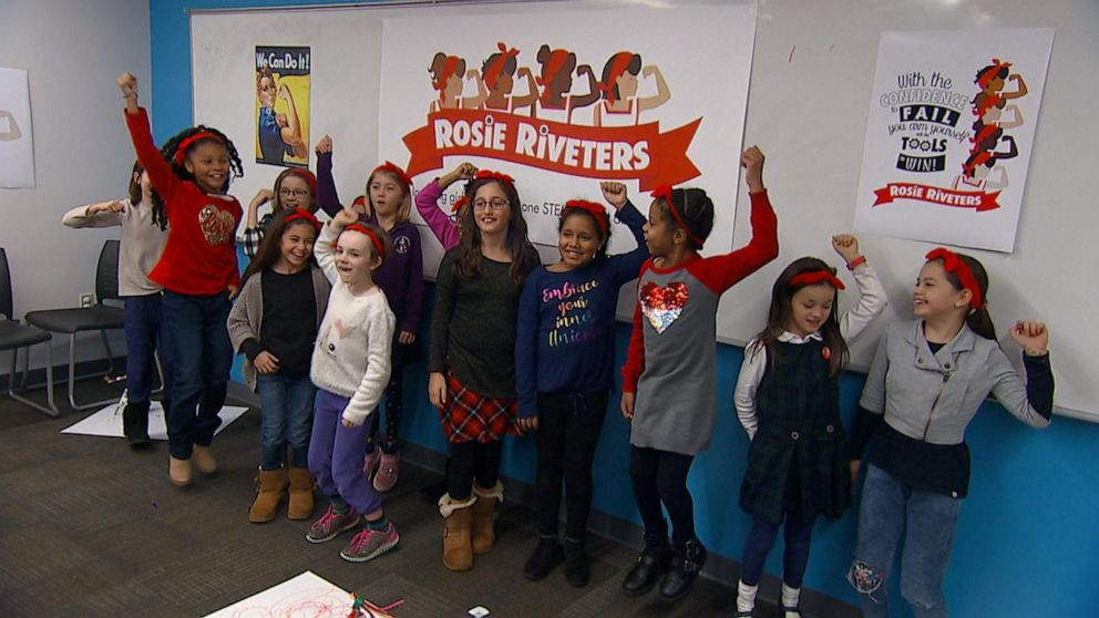 PHOTO: Rosie Riveters is a nonprofit that provide a creative space for girls to develop skills in STEM.