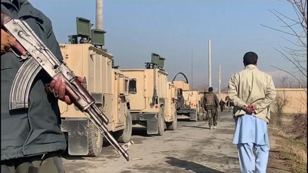 Suicide bomb explodes at largest US military base in Afghanistan