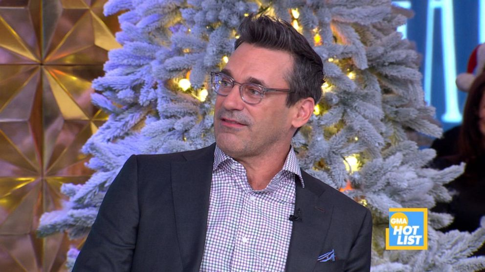 'GMA' Hot List: Jon Hamm does his Clint Eastwood impression