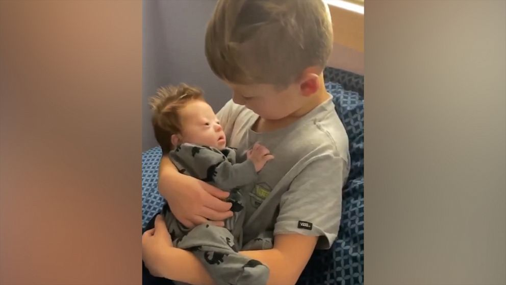 Boy sings '10,000 hours' to his infant brother and the song couldn't be sweeter