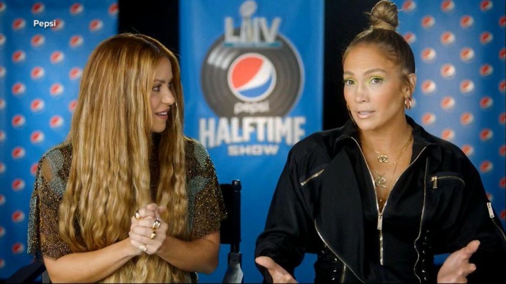 J.Lo and Shakira reveal secrets ahead of Super Bowl halftime show
