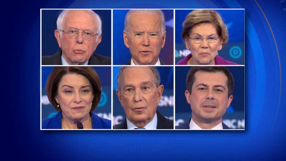 UHR: die Demokratischen Kandidaten die Verkleidung der 3. Wettbewerb in Nevada
