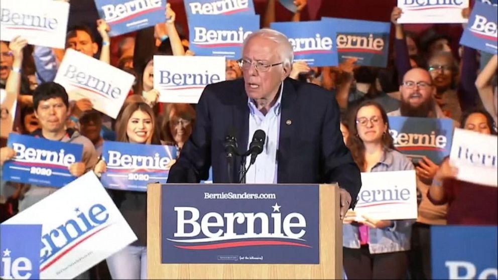 Sen. Bernie Sanders wins Nevada Democratic primary