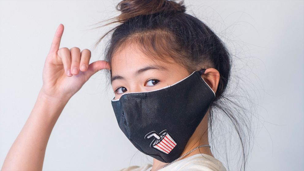 12 Year Old Fashion Designer Makes Masks For Health Care Workers Video Abc News