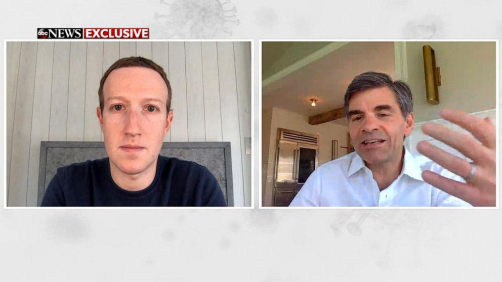 Mark Zuckerberg On Facebook S Plan To Fight Coronavirus Full Interview Video Abc News