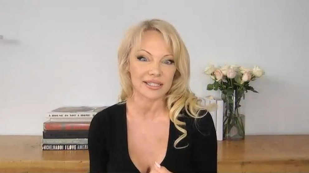 Pamela Anderson talks new venture and relationship with Julian Assange
