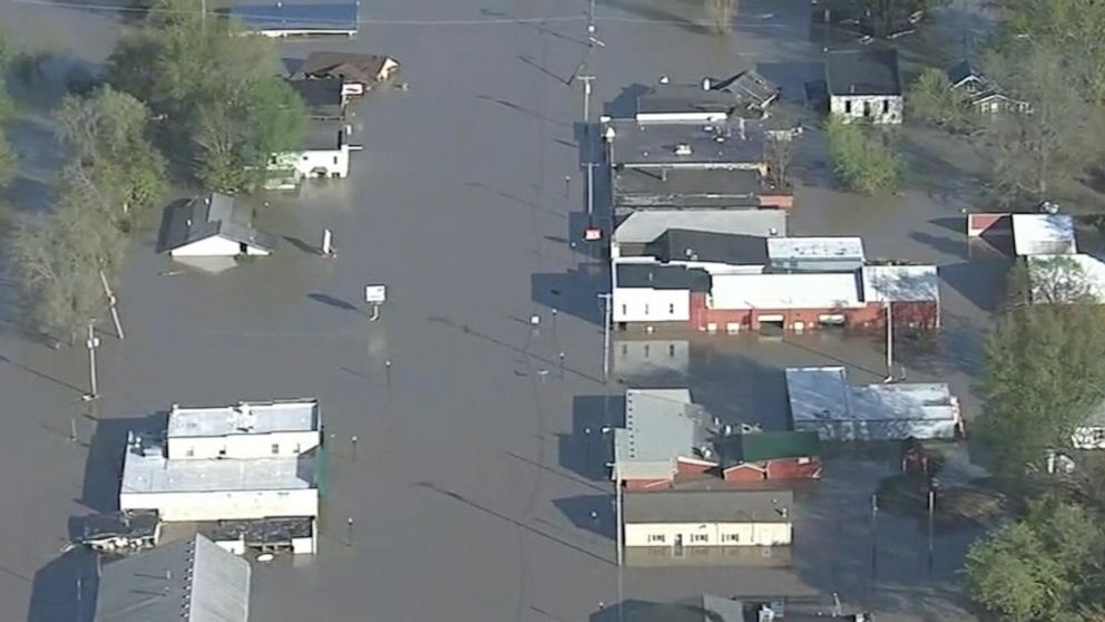 2 Dams Fail In Michigan Video Abc News