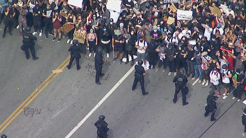 Protests Erupt Around The Country In Support Of George Floyd Video Abc News