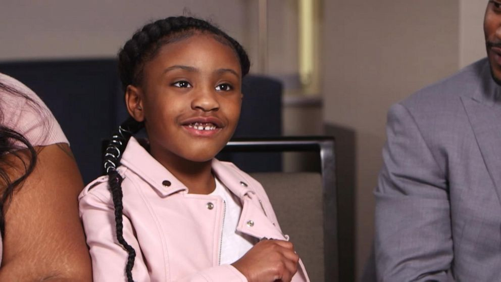 George Floyd S 6 Year Old Daughter Opens Up About Her Dad Video Abc News
