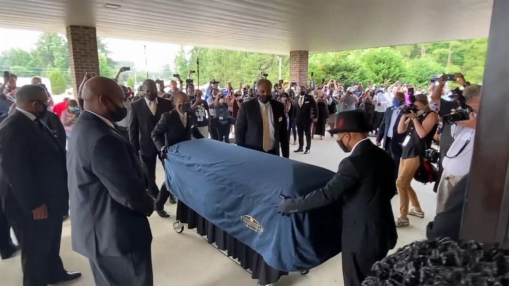 Thousands Gather For George Floyd S Funeral Video Abc News