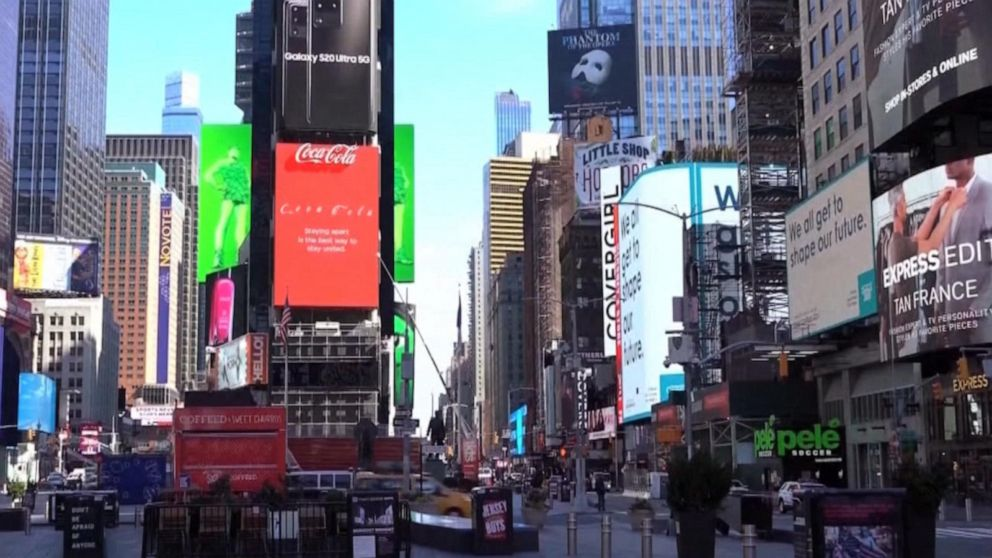 A Big Test Hard Hit New York City Begins Reopening Abc News