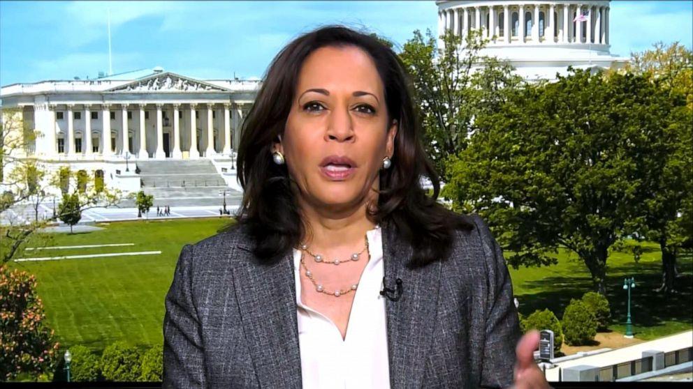 Sen Kamala Harris Speaks Out On Police Reform Video Abc News