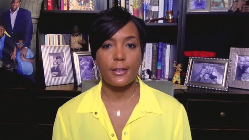 COVID-Positive Atlanta Mayor Keisha Lance Bottoms says 'We're Paying' for State Reopening Too Soon, Sees 'Perfect Storm of Distress in America'