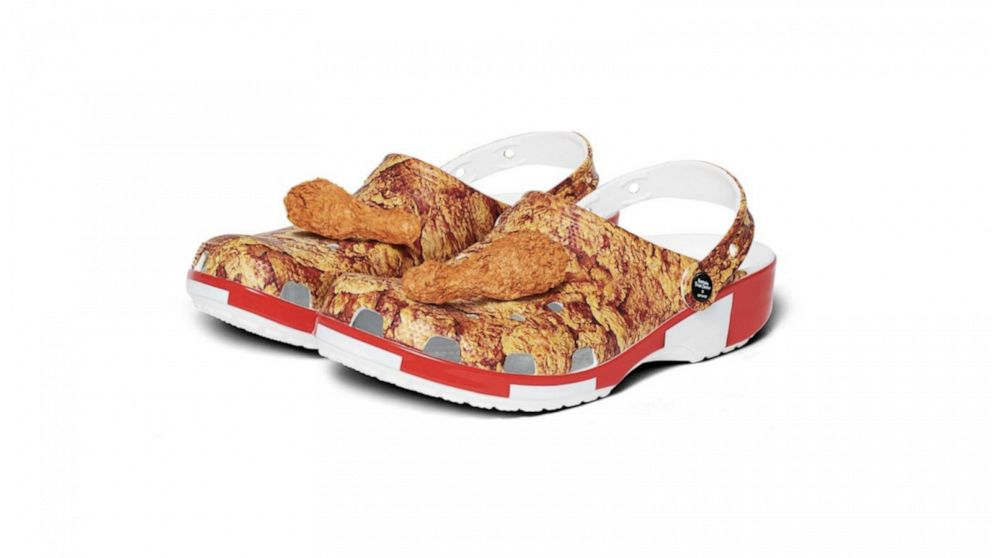 KFC fried chicken Crocs are a thing and we are here for them