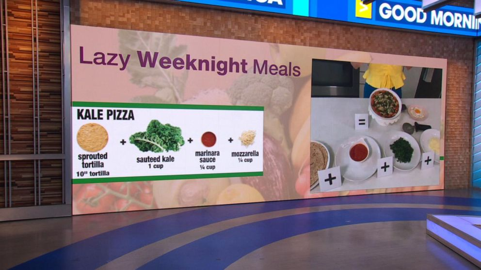 Nutritionist shares 'lazy' weeknight meals