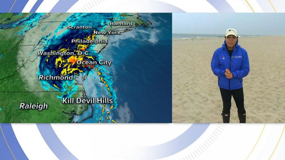 Jersey shore expects huge wind gusts from Hurricane Isaias