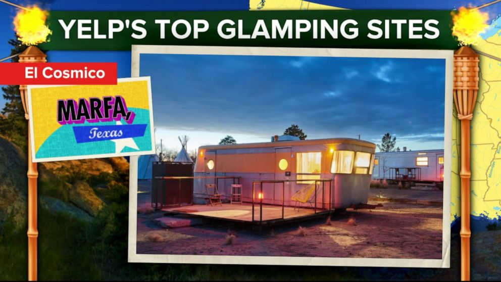 Glamping Or Glamorous Camping Has Become A Popular Socially Distant Activity Video Abc News