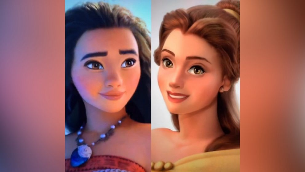real princesses with brown hair