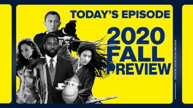 VIDEO: 2020 fall movie preview: A look ahead at the new movies to be released this season