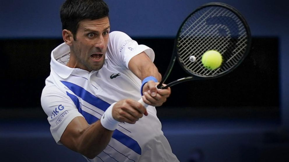 Tennis Star Novak Djokovic Defends Us Open Line Judge Video Abc News