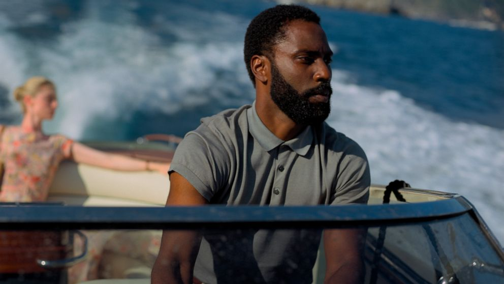 John David Washington on his starring role in the new Christopher Nolan film, 'Tenet'