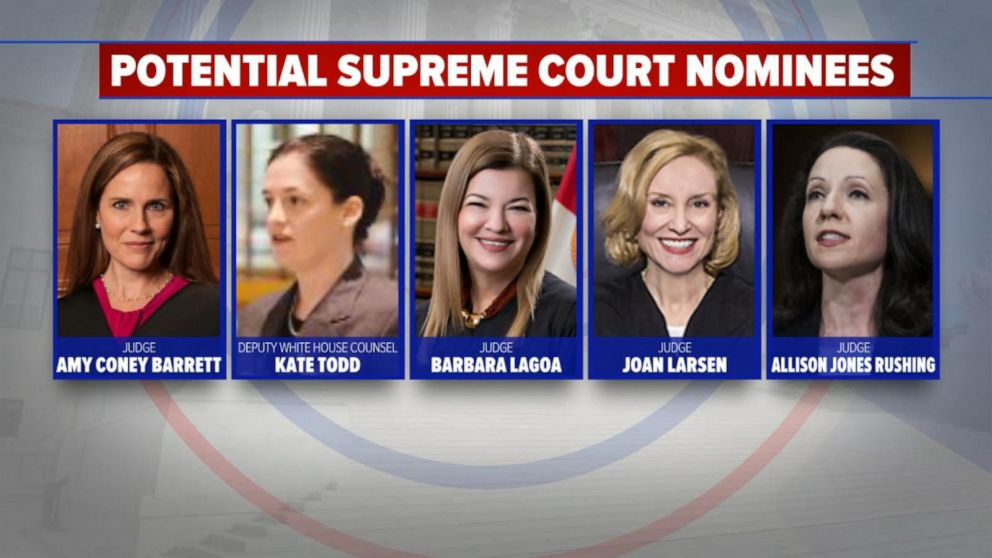 Supreme Court showdown to fill Justice Ginsburg's seat