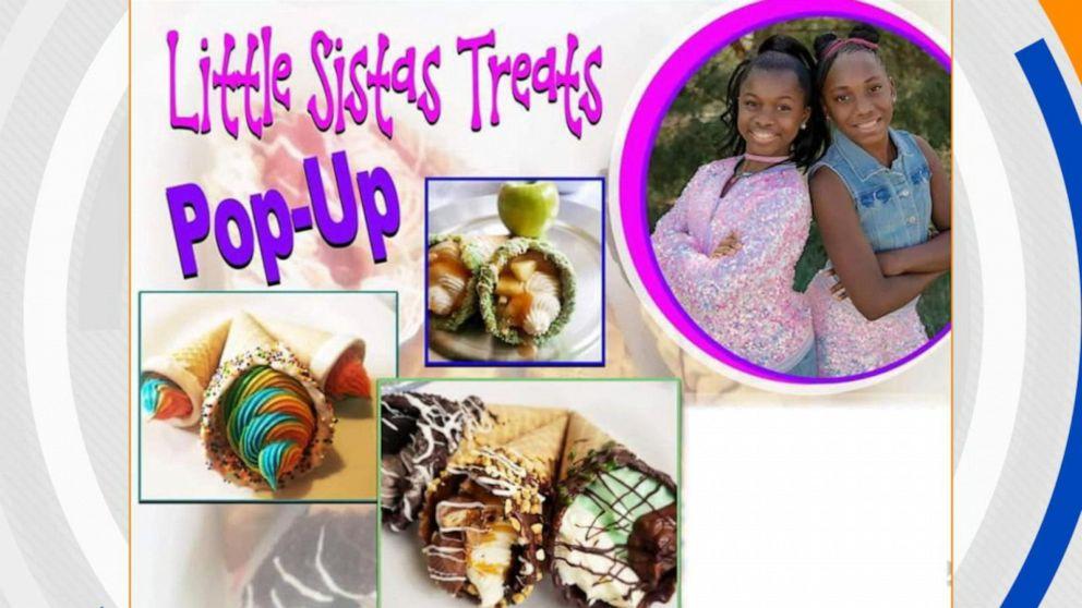 Sisters start their dream dessert business