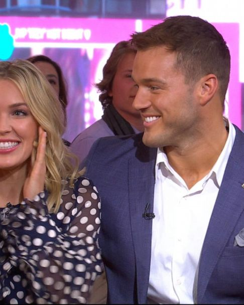 Bachelor Nation S Cassie Randolph Files Police Report Against Ex Colton Underwood Gma