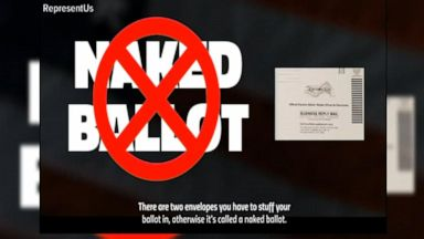VIDEO: Pennsylvania becomes 1st state to disqualify 'naked ballots'