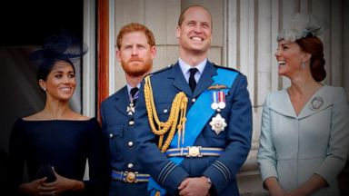 VIDEO: Prince William and Harry's rift is sibling rivalry 'on steroids,' new book claims