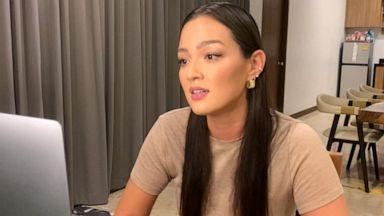 VIDEO: Mia Kang shares how she overcame body dysmorphia in new memoir