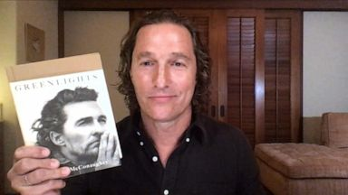 VIDEO: Why Matthew McConaughey's 'Greenlights' is not a typical memoir