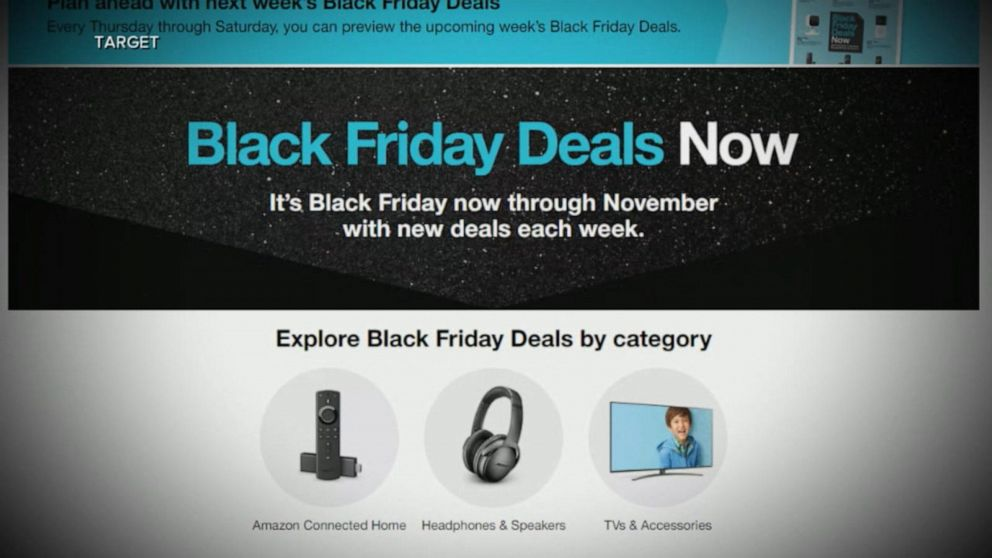 Target Announces Early Black Friday Deals Video Abc News