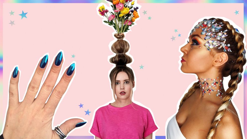 We're Still Not Over The Crazy Hair, Nail And Makeup Trends Of ... We're still not over the crazy hair, nail and makeup trends of ... Beauty Trends 2019 beauty trends over the years