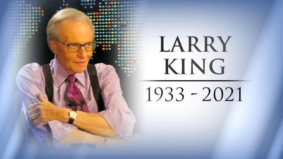 Tributes pour in for legendary talk show host Larry King