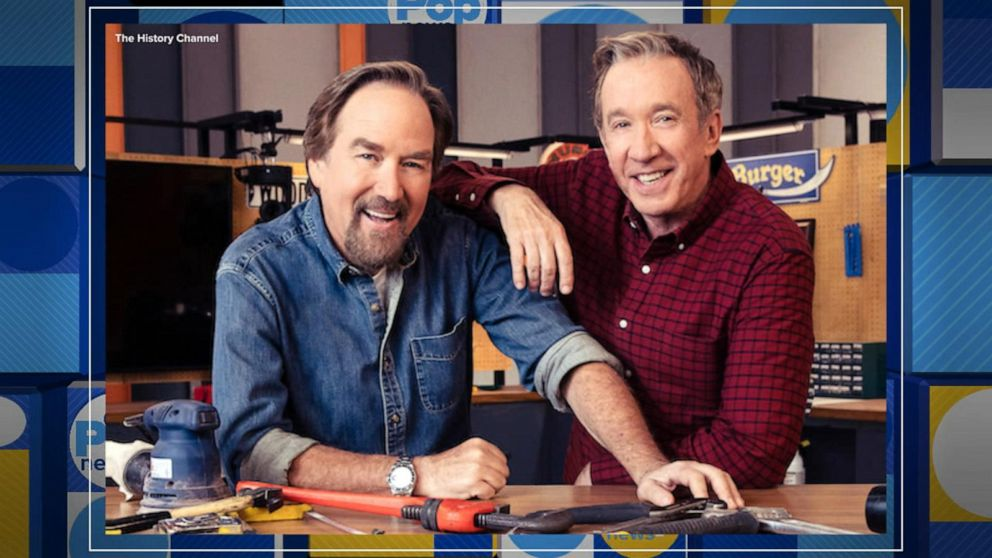 Home Improvement Sitcom Stars Return In A New Real Life Workshop Competition Show Video Abc News