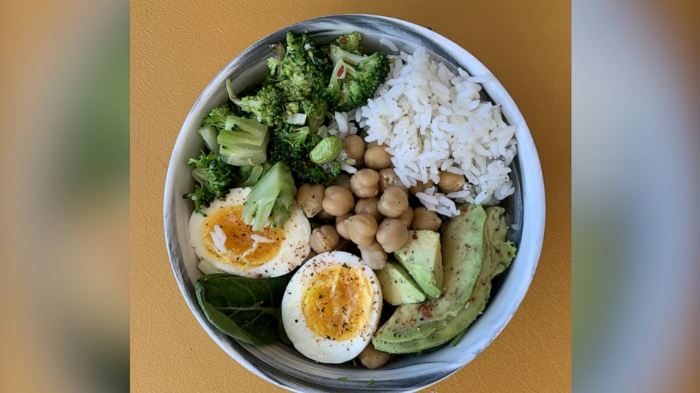 How to make a warm protein bowl with ingredients you probably already have at home