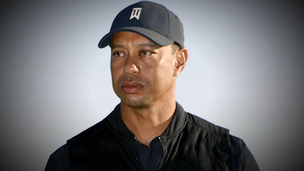 Tiger Woods breaks silence after crash