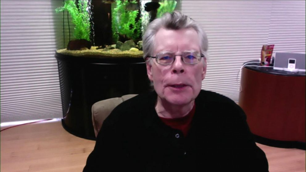 Stephen King talks about his new book, 'Later'