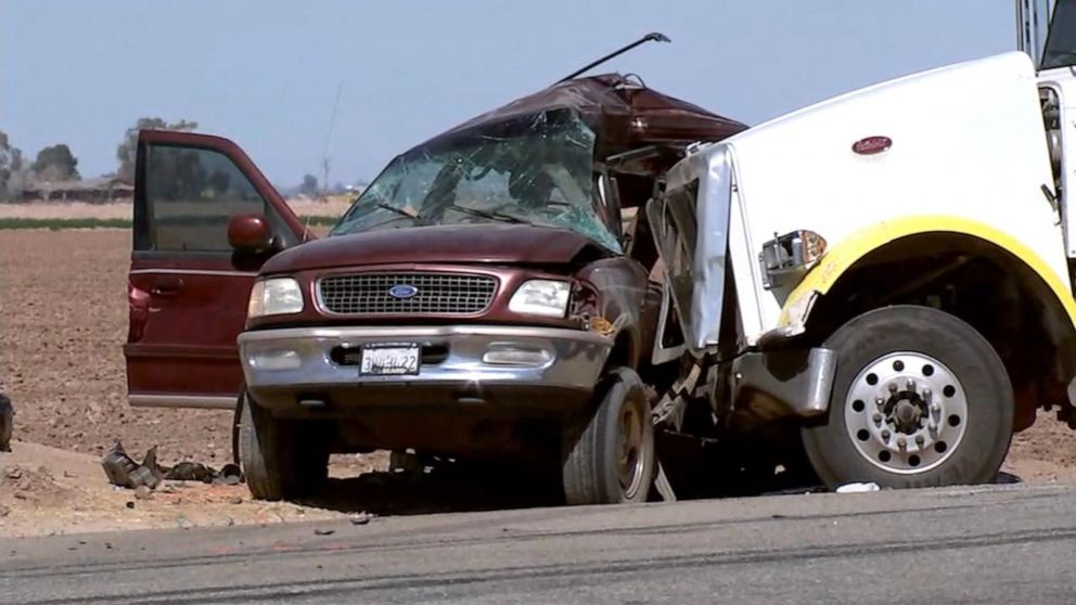 13 killed in California highway collision