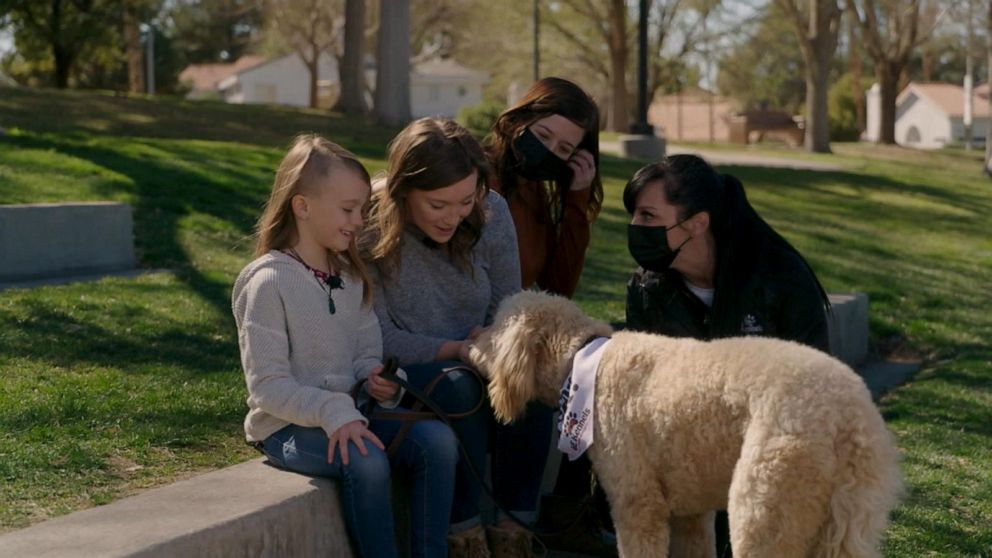 8-year-old diagnosed with rare disease gets service dog | GMA