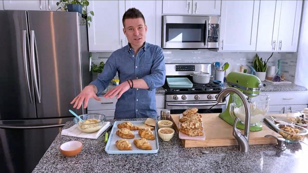 Creating scrumptious breakfast dishes from leftover pastries