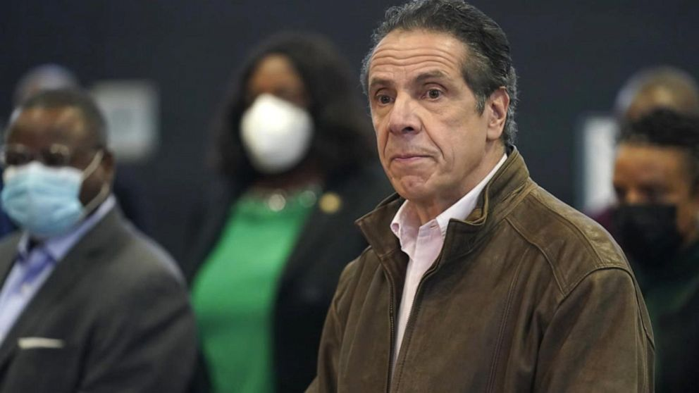 New York Governor Andrew Cuomo under fire as more accusations of misconduct are brought to light