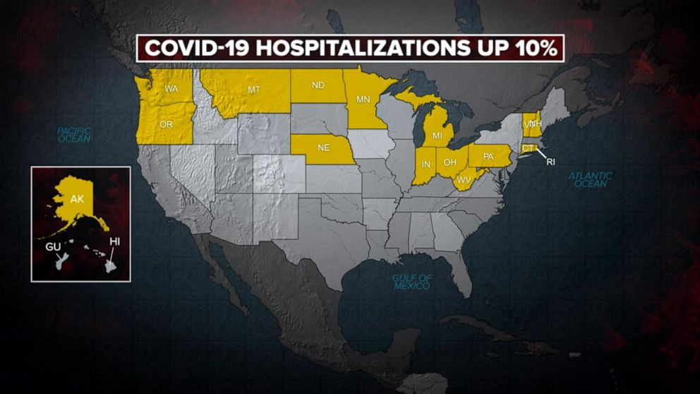 CDC warns rise in COVID cases among unvaccinated adults and children
