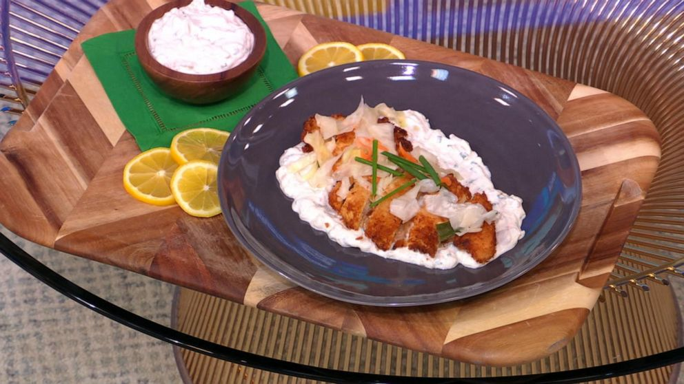 How to make hot 'n crispy chicken cutlets with kimchi ranch